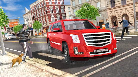 Car Simulator Escalade Driving Mod Apk