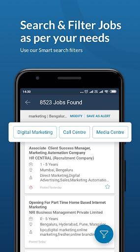 Naukri.com Job Search App: Search jobs on the go! 15.4 Screenshots 1