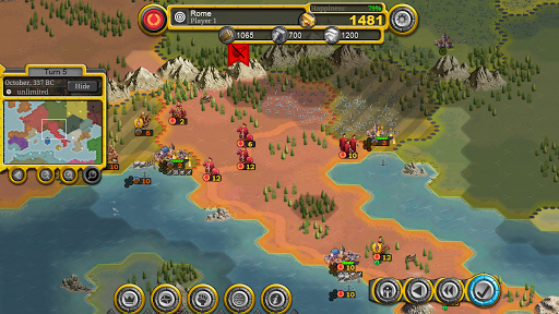 Demise of Nations android2mod screenshots 9