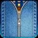 ジーンズジッパーロック画面 - Androidアプリ
