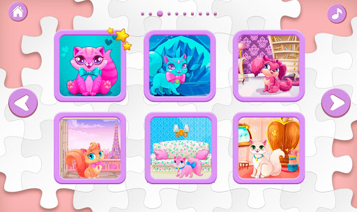 Kids Puzzles for Girls  screenshots 4