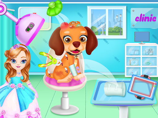 Puppy pet vet daycare - Puppy salon for caring goodtube screenshots 8