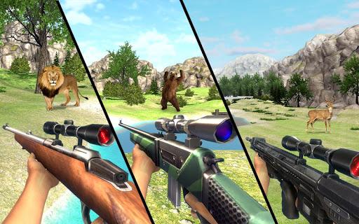 Real Jungle Animals Hunting - Free shooting game android2mod screenshots 4
