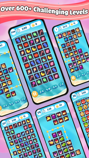 Onnect Tile Puzzle : Onet Connect Matching Game 1.0.5 screenshots 2