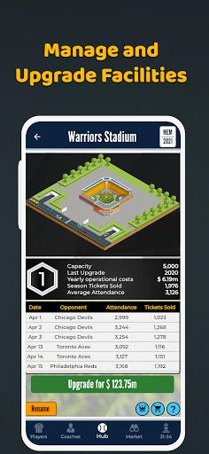 Ultimate Pro Baseball General Manager - Sport Sim  screenshots 11