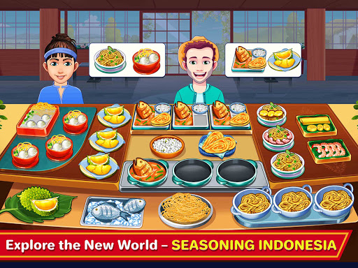 Indian Cooking Madness - Restaurant Cooking Games android2mod screenshots 9