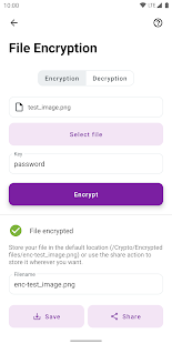 Crypto - Tools for Encryption & Cryptography Screenshot