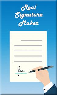 Real Signature Maker : Signature Creator Free