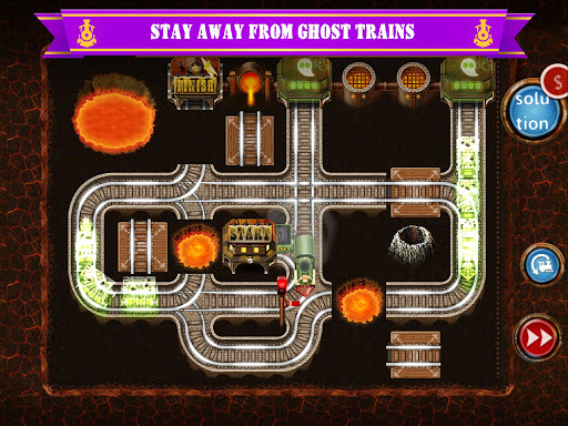 Rail Maze 2 : Train puzzler screenshots 9
