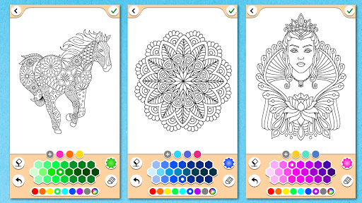 Mandala Coloring Pages  screenshots 7