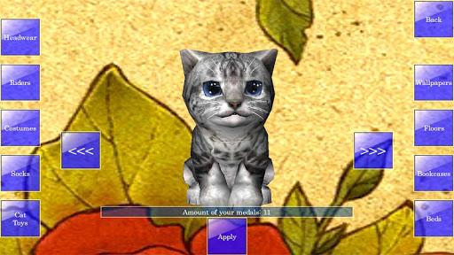 Cute Pocket Cat 3D 1.2.2.3 screenshots 6
