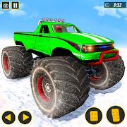 Monster Truck Snow Mountain Stunts Racing 2021