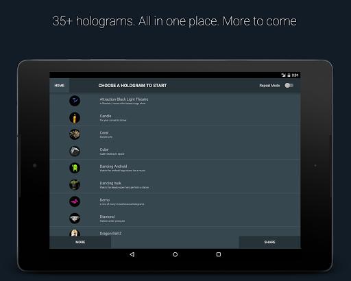 Hologram 3D - Phone Projector 3.3.0 screenshots 9