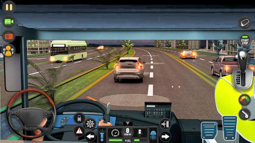 Télécharger Gratuit luxe touristique autobus conduirec Jeux Nouveau apk mod screenshots 4