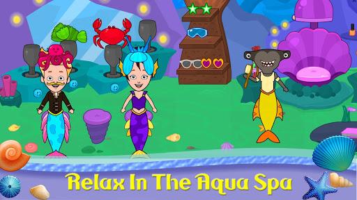 My Tizi Town - Underwater Mermaid Games for Kids 1.0 Screenshots 5