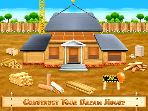 City Construction Vehicles - House Building Games screenshots 6