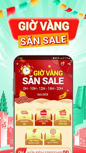 Sendo: Chu1ee3 Viu1ec7t 9.9 - Mu00f9a Sale Tiu1ebft Kiu1ec7m android2mod screenshots 8