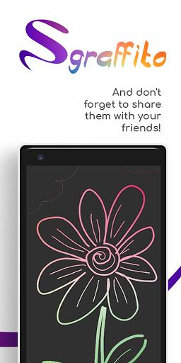Sgraffito Drawing Pad - Digital art set doodle app 2.2.0 Screenshots 10