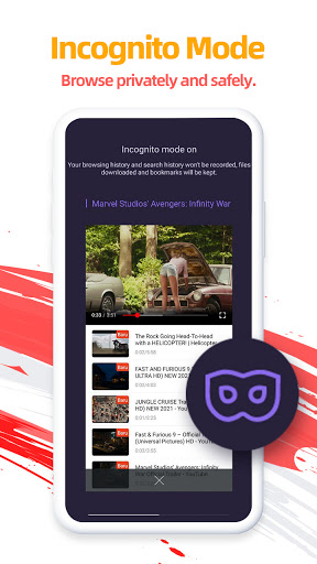 UC Browser-Secure, Free & Fast Video Downloader 13.3.8.1305 screenshots 3