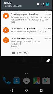 Harvest Time & Expense Tracker