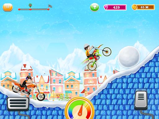 Kids Bike Hill Racing: Free Motorcycle Games 0.9 screenshots 1