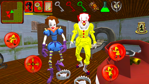 Clown Brothers. Neighbor Escape 3D apkpoly screenshots 4