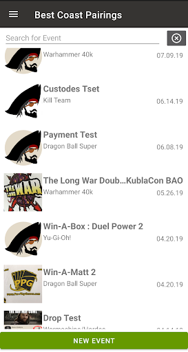 BCP Tournament Organizer  Screenshots 1
