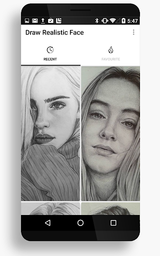 Drawing Realistic Face 15 Screenshots 1