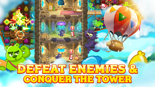 Tower Masters Match 3 Game Free Apk , (Apk unlimited money) , Tower Masters Match 3 Game Free Download 4