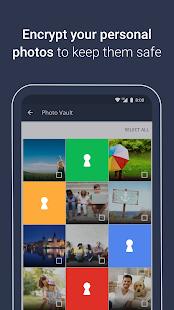 AVG AntiVirus Free & Mobile Security, Photo Vault