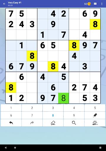 Sudoku Free - Classic Brain Puzzle Game  screenshots 9