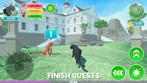 Télécharger Gratuit Panther Family Sim 3D: aventure dans la jungle mod apk screenshots 2