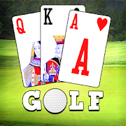 Golf Solitaire 4 in 1 Card Game