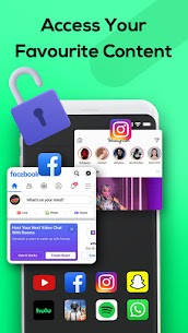 Melon VPN – Unblock Free Wifi Proxy VPN MOD (VIP) 3