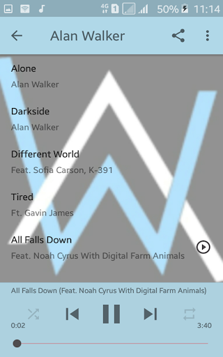 Alan Walker Offline 3.1 Screenshots 8