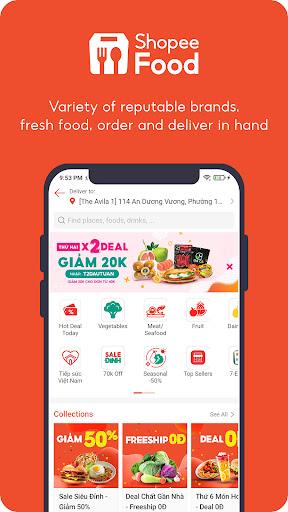 ShopeeFood - Food Delivery apktram screenshots 6