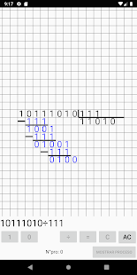Binary Calculator with Carries or Processes