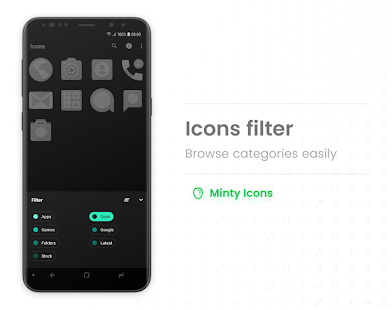 Minty Icons Pro Screenshot