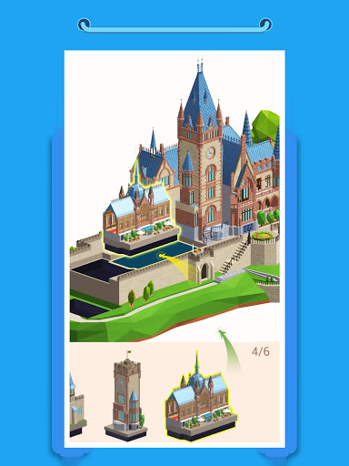 Pocket World 3D - Assemble models unique puzzle 1.8.9 Screenshots 6