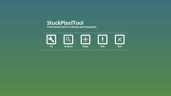 Stuck Pixel Tool - Analyze & Fix Broken Pixels Screenshot