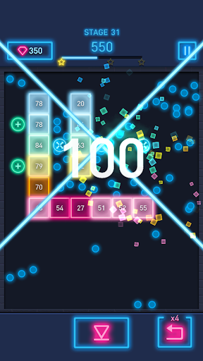 Brick Breaker: Neon-filled hip hop! 1.0.19 screenshots 3