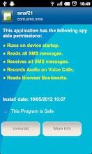 Anti Spy Mobile Free screenshot thumbnail