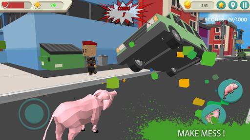 crazy pig simulator screenshot 1