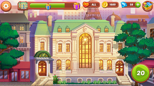 Hotel Fever: Grand Hotel Tycoon Story  screenshots 16