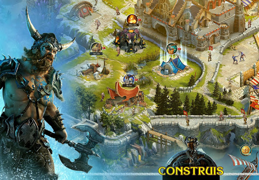 Code Triche Vikings: War of Clans APK MOD (Astuce) screenshots 1
