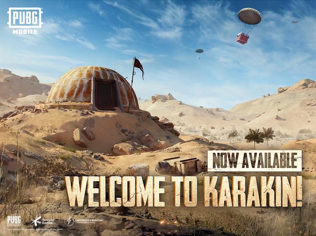 PUBG MOBILE - NEW MAP KARAKIN – Apps on Google Play poster 17