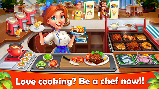 cooking joy - super cooking games, best cook! screenshot 1