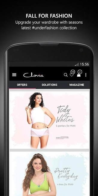 Clovia App - Shop Lingerie, Nightwear & Activewear
