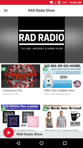 rad radio show screenshot 1