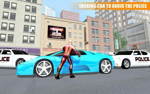 Miami Rope Hero Spider Open World City Gangster Apk Download 5